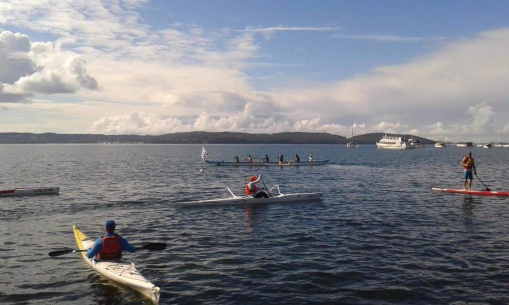 Winterfest Paddle for The Rotary Club of Toronto Sunrise -