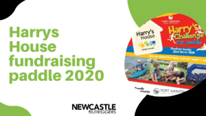 Harrys house fundraising paddle 2020 - Outrigger Canoe Club - Newcastle Outrigger Canoe Club