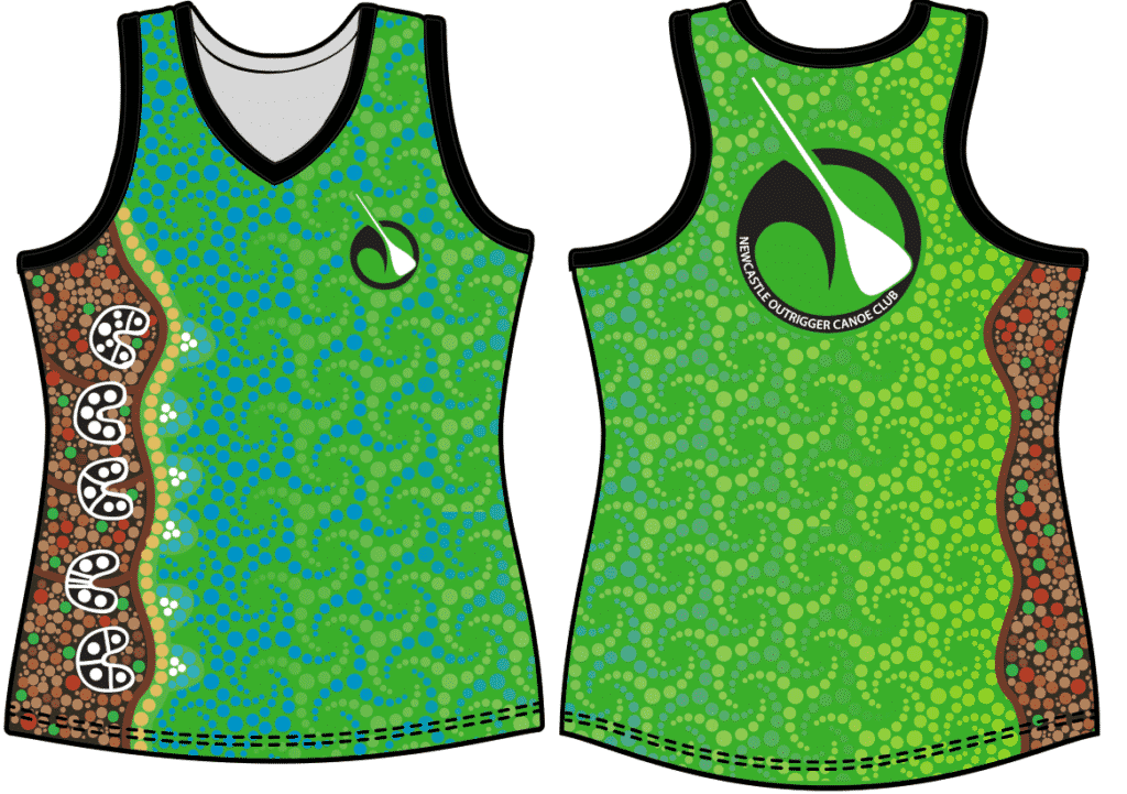 Race Single - NOCC Uniforms - Newcastle Outrigger Canoe Club